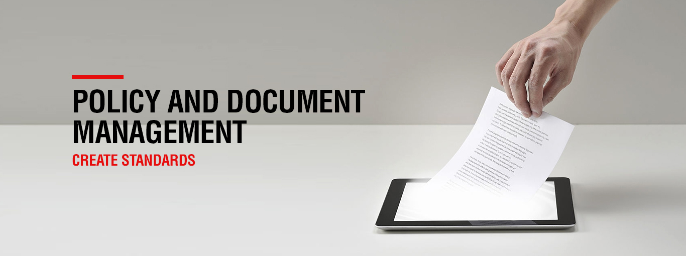 policy and document management